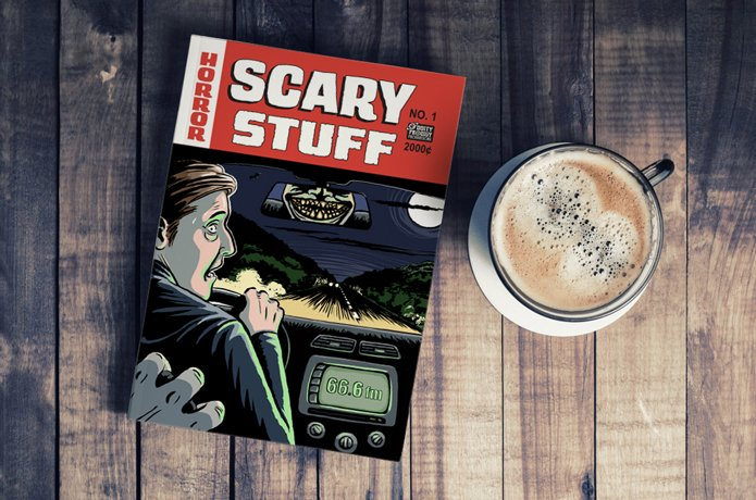 GRANDMA'S DEAD, ISN'T SHE? - The Scary Stuff Anthology
